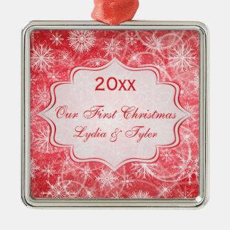 Our First Christmas Keepsake Premium Ornament
