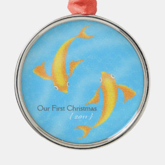 Our First Christmas Ornament - Koi