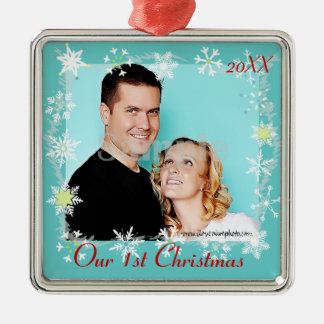 Our First Christmas Photo Ornament
