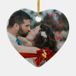 Our First Christmas Together 2017 Christmas Ornament