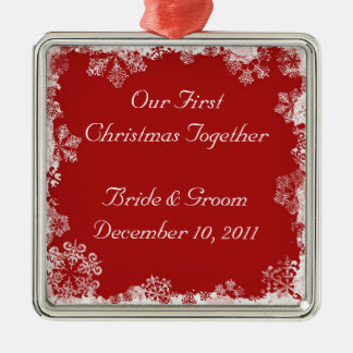 Our First Christmas Together Holiday Ornament