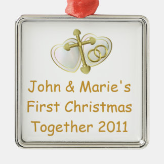 Our First Christmas Together Religious Christmas Ornament