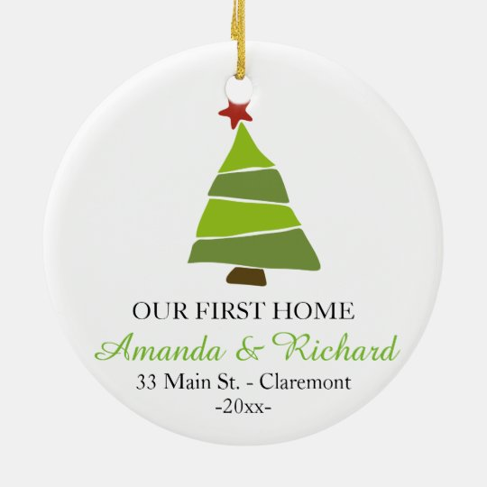 Our first home Christmas tree ornament