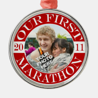 Our First Marathon - 2011 Christmas Ornament
