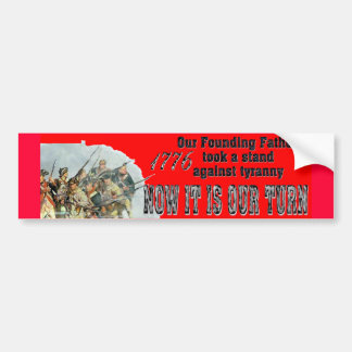 Our Founding Fathers against tyranny Bumper Sticker