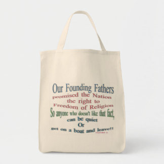 Our founding fathers bag