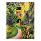 Our Garden by August Macke Postcard