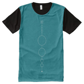our geometric solar system All-Over print T-Shirt