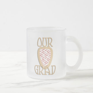Our Grad Gold Photo Frame Coffee Mugs