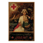 Our Greatest Mother Join Red Cross Poster