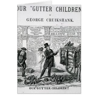 Our Gutter Children, 1869 Card