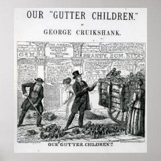 Our Gutter Children 1869 Print