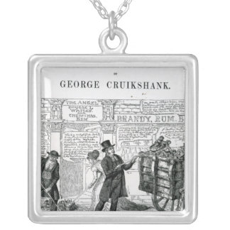 Our Gutter Children, 1869 Silver Plated Necklace