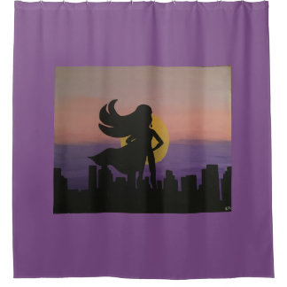 Our Hero Shower Curtain