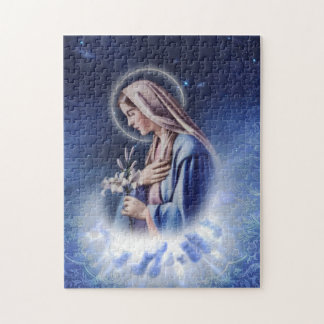 Our Holy Maria Blue Puzzle