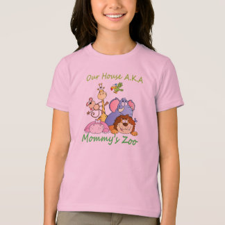 Our House AKA Mommy's Zoo Tee Shirt