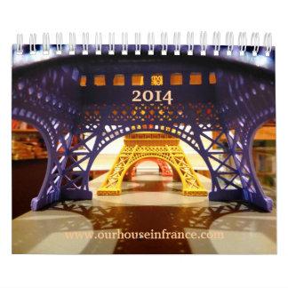 Our House in France, 2014 Calendar