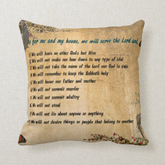 Our House Rules Throw Pillow Throw Cushion