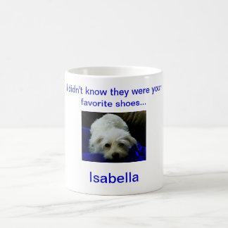 Our Isabella Basic White Mug
