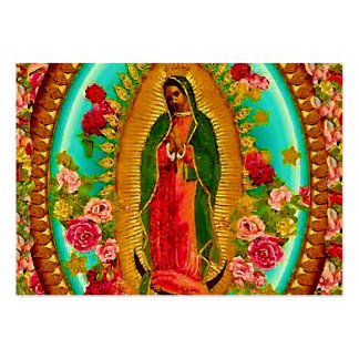 Our Lady Guadalupe Mexican Saint Virgin Mary Pack Of Chubby Business Cards