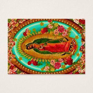 Our Lady Guadalupe Mexican Saint Virgin Mary Business Card