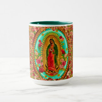 Our Lady Guadalupe Mexican Saint Virgin Mary Mug