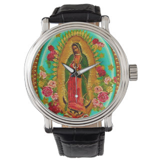 Our Lady Guadalupe Mexican Saint Virgin Mary Watch