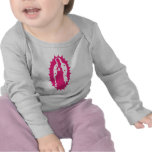 our lady guadalupe pink tshirts