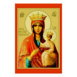 Our Lady of Czestochowa Virgin Mary Poster