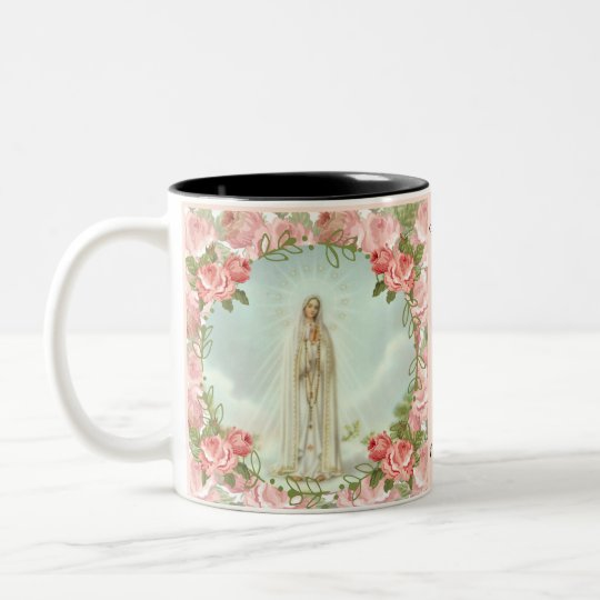 Our Lady of Fatima Centennial Anniversary Two-Tone Coffee