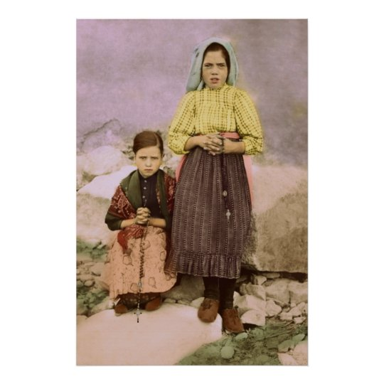 Our Lady of Fatima Children Jacinta & Lucia