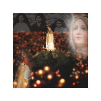 OUR LADY OF FATIMA GALLERY WRAP CANVAS