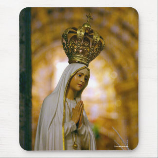 Our Lady of Fatima Mouse Mat