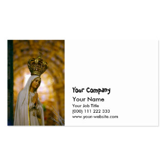 Our Lady of Fatima Pack Of Standard Business Cards