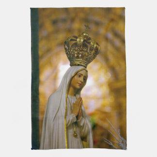 Our Lady of Fatima Tea Towel