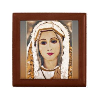 Our Lady of Fatima Treasure Box Small Square Gift Box