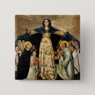 Our Lady of Grace and the Masters of the Order of 15 Cm Square Badge