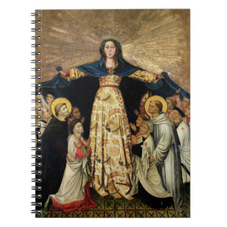 Our Lady of Grace and the Masters of the Order of Spiral Notebook