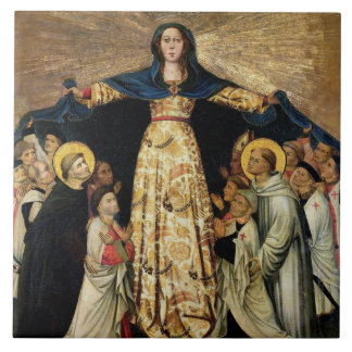 Our Lady of Grace and the Masters of the Order of Tile