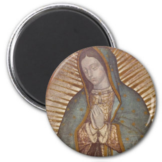 OUR LADY OF GUADALUPE 6 CM ROUND MAGNET