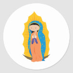 Our Lady of Guadalupe Classic Round Sticker
