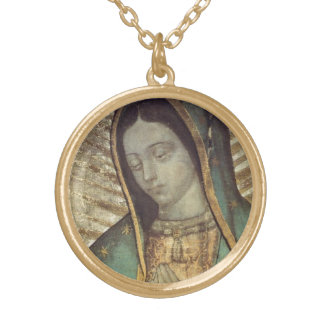OUR LADY OF GUADALUPE GOLD PLATED NECKLACE