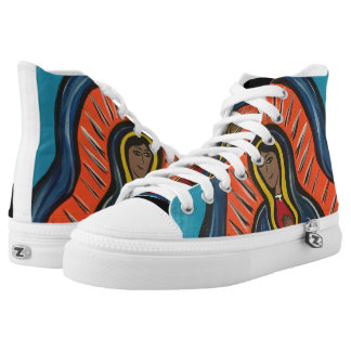 'Our Lady Of Guadalupe' Hi-Top Shoes Printed Shoes