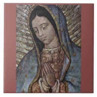 OUR LADY OF GUADALUPE LARGE SQUARE TILE