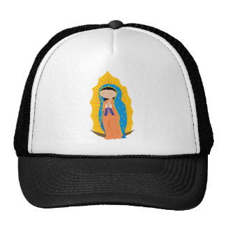 Our Lady of Guadalupe Mesh Hats