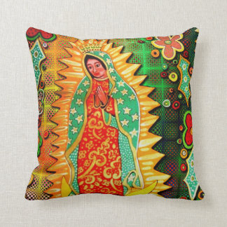 Our Lady of Guadalupe Mexico Cushion