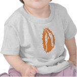 our lady of guadalupe orange tee shirt
