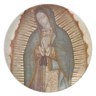 Our Lady of Guadalupe Party Plate