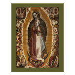 OUR LADY OF GUADALUPE POSTERS