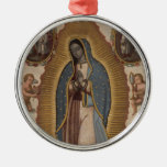 OUR LADY OF GUADALUPE PRAY FOR US CHRISTMAS TREE ORNAMENT